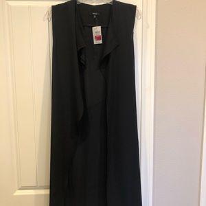 Long black kimono size sm